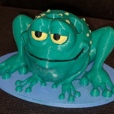 Picture of print of Frog Penholder This print has been uploaded by Mark Hunt