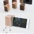 Boombox phone stand image