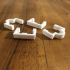 2020 extrusions - cable clip collection print image