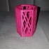 Hexagonal Pen Holder print image