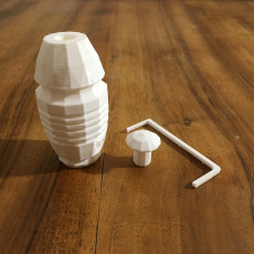 Picture of print of SciFi Hand Grenade Spring Loadable