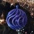 Christmas ball spiral image