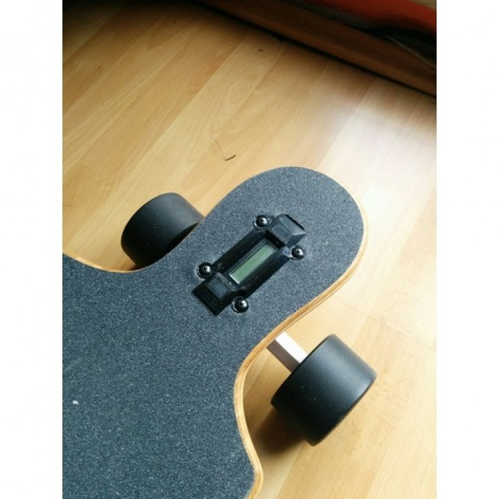 Electric skateboard - Battery indicator cover