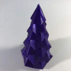 Picture of print of Low Poly Christmas Tree