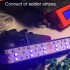 Awesome Prusa MK3 LED strip (RGB color) lightning kit (little money for great lightning) image