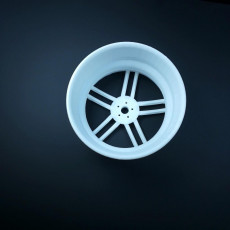 Picture of print of Wheel Audi