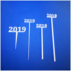 Picture of print of 2019 New Years Party Picks and Swizzle sticks