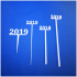 2019 New Years Party Picks and Swizzle sticks print image
