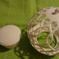 Picture of print of Candle holder-tree ball