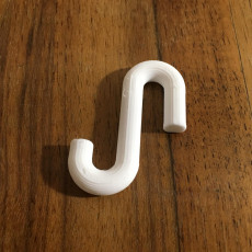 Picture of print of replacement ornament hook