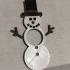 Snowman Paper Napkin Holder image