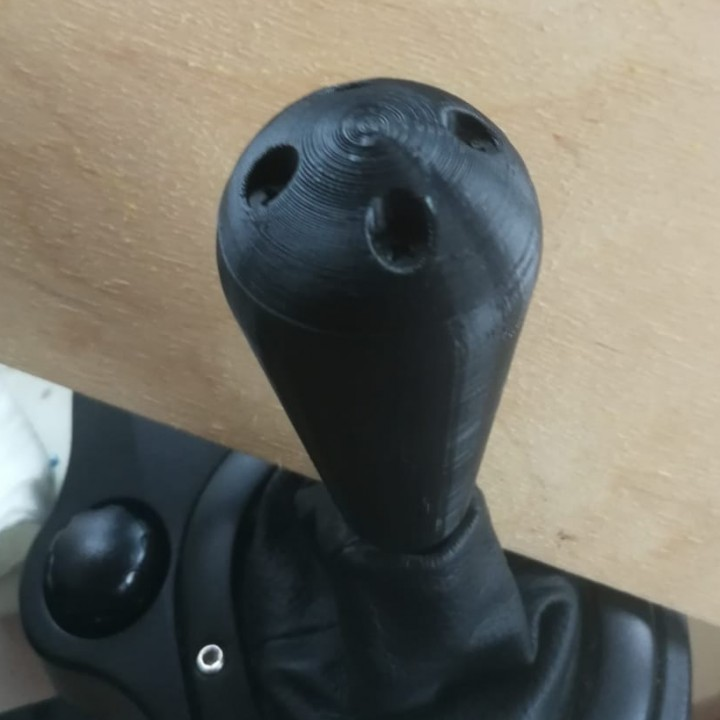 3D Printable Shifter knob Logitech G27/G29 by Daan Schuurmans