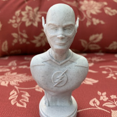 Picture of print of The Flash bust Esta impresión fue cargada por Keith Peffer