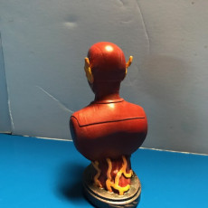 Picture of print of The Flash bust