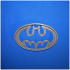 Batman logo cookie cutter image