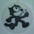Felix the Cat (face only) fridge magnet & ornament / IEC3D image