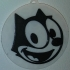 Felix the Cat - Whistling, Magnet & Ornament / IEC3D image