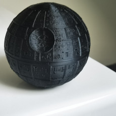 Picture of print of Death Star