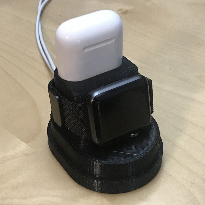 3d Printable Airpod And Apple Watch Charger Stand By Kacper Laska