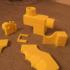 Nerf rival PVC adapter trigger version2 printable print image