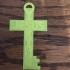 Jesus Is KING Key necklace pendant image
