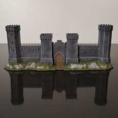 Crusader Castle Gate