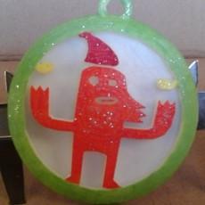 MONSTROUS CHRISTMAS DECORATION No8