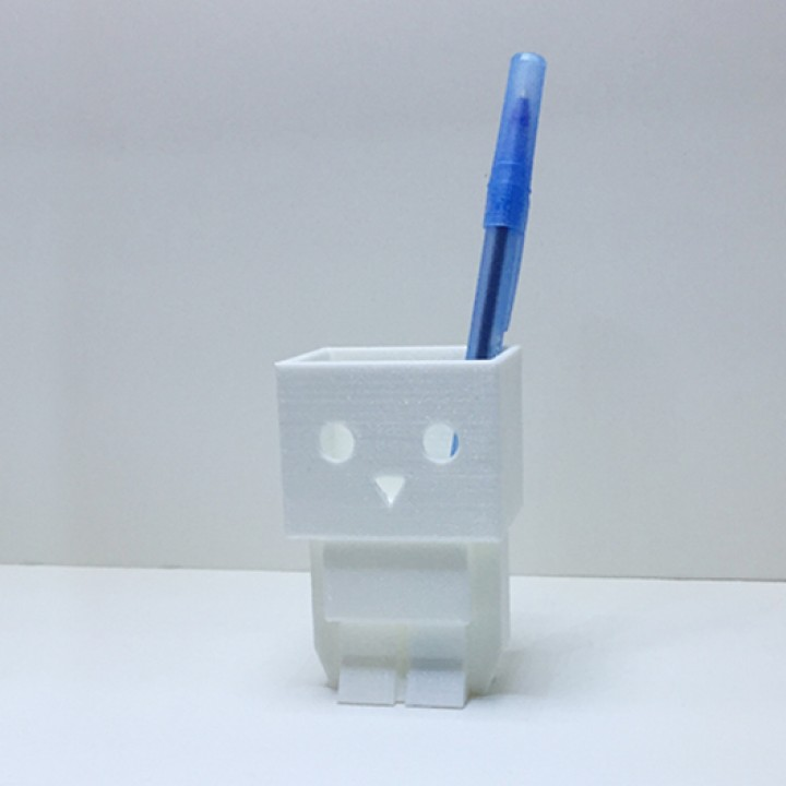 Tofubot pen stand / mini planter