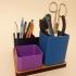 Modular desk organizer image