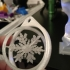 Spinning Snowflake Ornament image