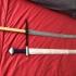 Viking single edged sword image