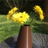 "Flower vase ""GEO"" image"