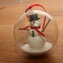 Snowman in a Bauble image