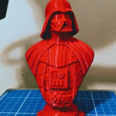Picture of print of Darth Vader bust 这个打印已上传 Racush Strago