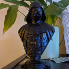 Picture of print of Darth Vader bust 这个打印已上传 Richard Harrison