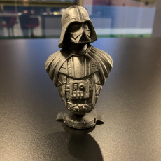 Picture of print of Darth Vader bust 这个打印已上传 lecter