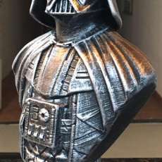 Picture of print of Darth Vader bust 这个打印已上传 Marcelo Cuin