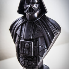 Picture of print of Darth Vader bust 这个打印已上传 Egydio