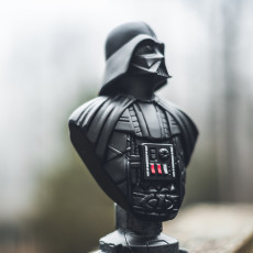 Picture of print of Darth Vader bust 这个打印已上传 Nathan Stoltzfoos