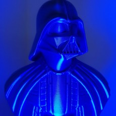 Picture of print of Darth Vader bust 这个打印已上传 3D Printiverse