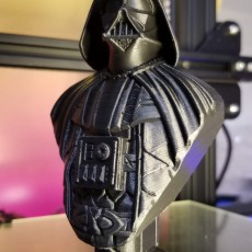 Picture of print of Darth Vader bust 这个打印已上传 Marc Dufour