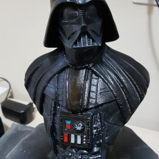 Picture of print of Darth Vader bust 这个打印已上传 Marcos Mello