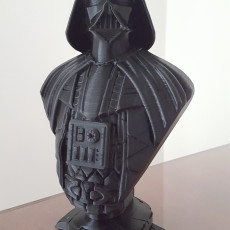 Picture of print of Darth Vader bust 这个打印已上传 Various Projects