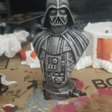 Picture of print of Darth Vader bust 这个打印已上传 Jigglets