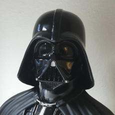 Picture of print of Darth Vader bust 这个打印已上传 Alessandro Sabbioni