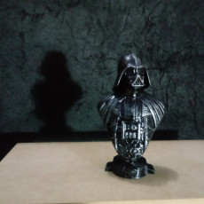 Picture of print of Darth Vader bust 这个打印已上传 Silva