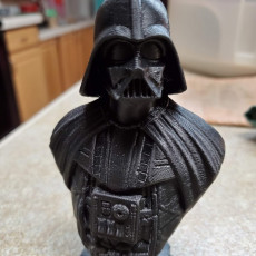 Picture of print of Darth Vader bust 这个打印已上传 Terry Pasley