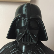 Picture of print of Darth Vader bust 这个打印已上传 laurent pruvot