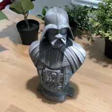 Picture of print of Darth Vader bust 这个打印已上传 Stone's Prints