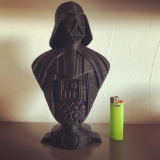 Picture of print of Darth Vader bust 这个打印已上传 Herr